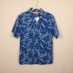 Red Ale Hawaiian Shirt (Tall Length)